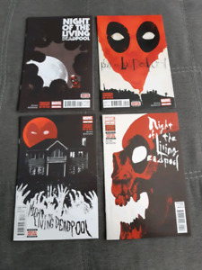 Night of the Living Deadpool #1-4 Complete Series.