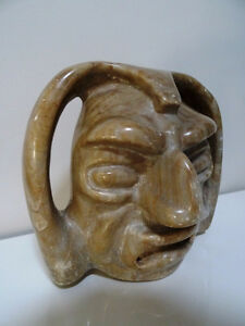 BEAUTIFULLY UGLY south american STONE SPIRIT SCULPTURE ART 6lbs. Cambridge Kitchener Area image 2