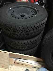 4 Winter tires St. John's Newfoundland image 1