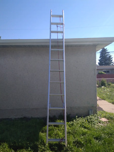 24 extension ladder for sale with rope