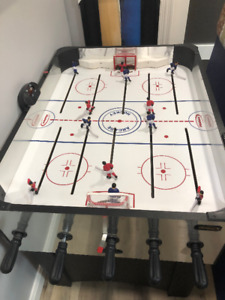 Rod Hockey Stand up Table