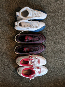 3 pairs of shoes good condition size 13!!!