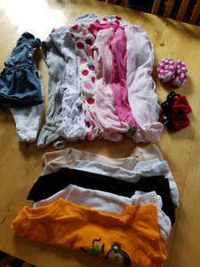 3-6 months, girls clothing lot 1