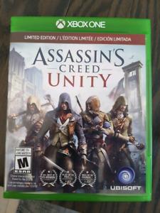 Jeu Assassin 's creed unity xbox one