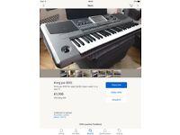 KORG PA900 professional keyboard Inc extras,