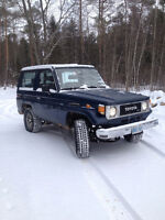 1987 Toyota Land Cruiser BJ70 DIESEL REDUCED