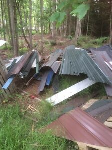 Various metal for roofing
