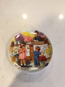 """Jeanne Down's """"Friends I Remember"""" collector plate series"""