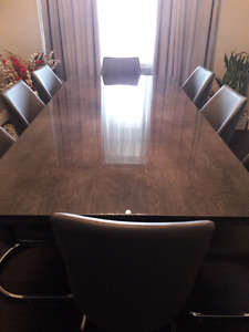 Modern Dining Table Made In Italy