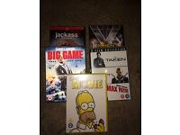 5 DVDs for £5