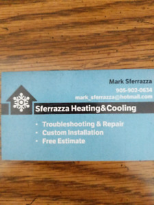 Air conditioners Furnaces Hot water tank Gas lines.