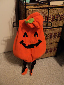Carter's Pumpkin with Tights