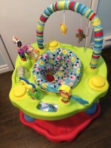 Evenflo ExerSaucer Bounce & Learn Barnyard Saucer