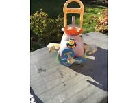 Sit on baby/ toddler push along Disney Winnie the Pooh toy - Ride on car