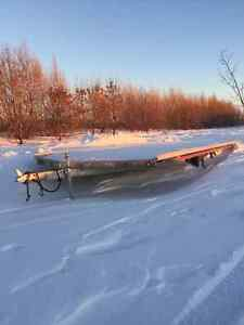 Triton 4 Place Snowmobile Trailer Drive on Drive Off