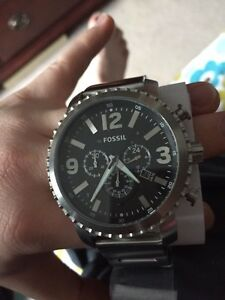 Fossil Chronograph Stainless Steel Watch(NEW)