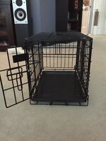 Metal collapsible Kennel for puppy or small dog