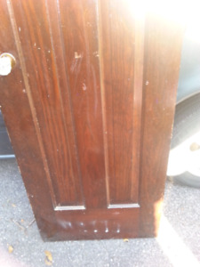 "SOLID DOORS 71 1/2""  X 23 3/4""  VERY HEAVY $50 for BOTH!!"