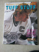 WAYNE GRETZKY COVER - TUFF STUFF - MARCH 1991 PRICE GUIDE