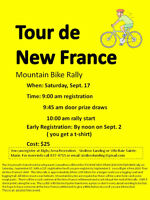 Tour de New France Mountain Bike Rally