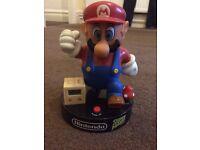 Retro Mario alarm clock.