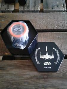 "Unisex Nixon Unit ""Star Wars/Poe Dameron"" Special Edition watch."