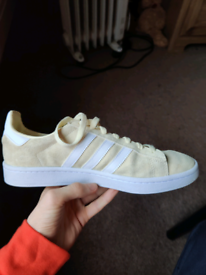 Adidas Campus Shoes (Yellow)