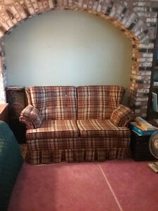 Love seat / 2 seat sofa in a single family home