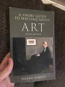 A short Guide to Writing About Art - Barnet