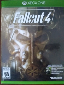 Fallout 4 - Xbox One **Mint Cond.