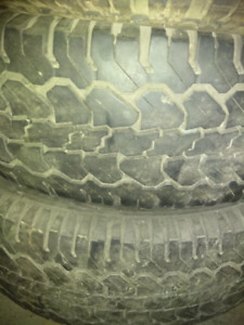 245 / 75  R 16 only 2 Tires