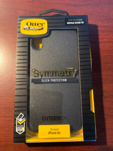 OTTERBOX SYMMETRY CASE FOR iPHONE XR - BLACK - NEW IN BOX