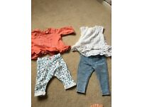 Two baby 0-3 outfits