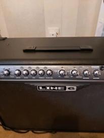 Line 6 spider III 120 watt lead guitar combo with built in effects