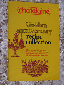 Golden Anniversary Recipe Collection-Chatelaine