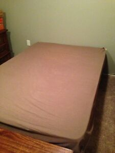 Fitted Flannel Sheet for Double Bed Regina Regina Area image 1