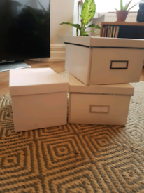 Ikea storage boxes