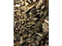 Seasoned hardwood logs for sale