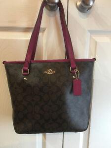 Coach authentic handbag-BAG # 7