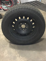 275/60/20 Toyo GSi 5 Winter Tires and Wheels