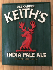 Alexander Kieth's beer sign