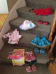 Build A Bear clothing/accessories - great condition Cambridge Kitchener Area image 1