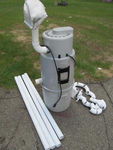 aspirateur central kenmore avec tuyau et prises pour les murs