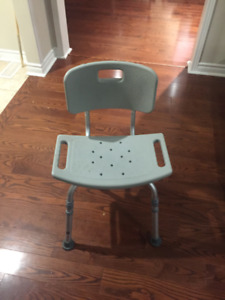 Waterproof / Shower Chair Perfect Condition