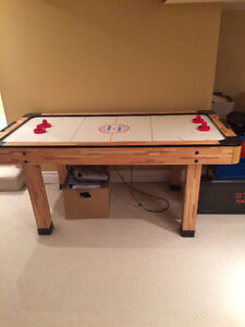 TABLE DE JEU EN BOIS AIR HOCKEY