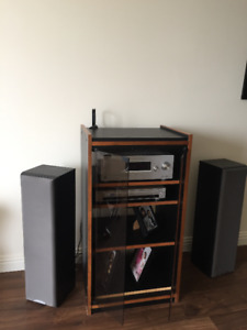 For the classy music-lover...Home Stereo Set-up