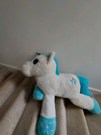 Massive huge soft toy unicorn
