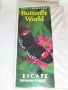 Extraordinaire VHS monde des papillons paradis sur ailes WOW