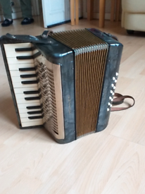 Small Hohner Accordion Vintage