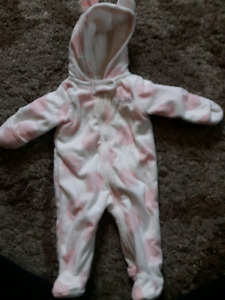 Newborn- 3 month winter outfits